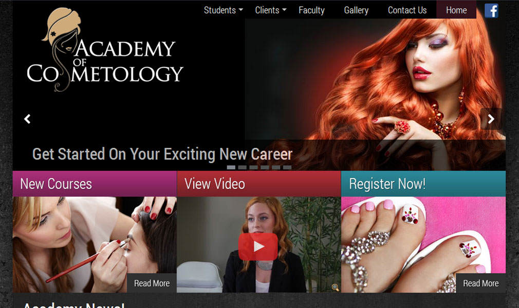 Academy of Cosmetology Logo